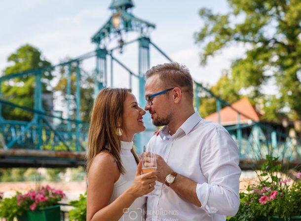 Zaręczyny pięknej pary